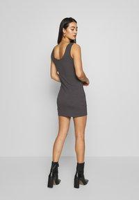 Even&Odd - 2 PACK - Shift dress - grey/black - 3