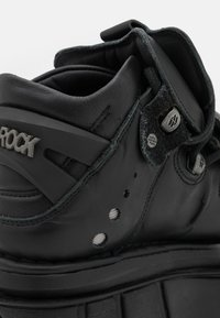 New Rock - UNISEX - High-top trainers - black - 5