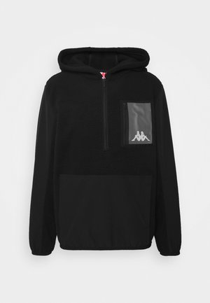 DAVE - Fleecepullover - black