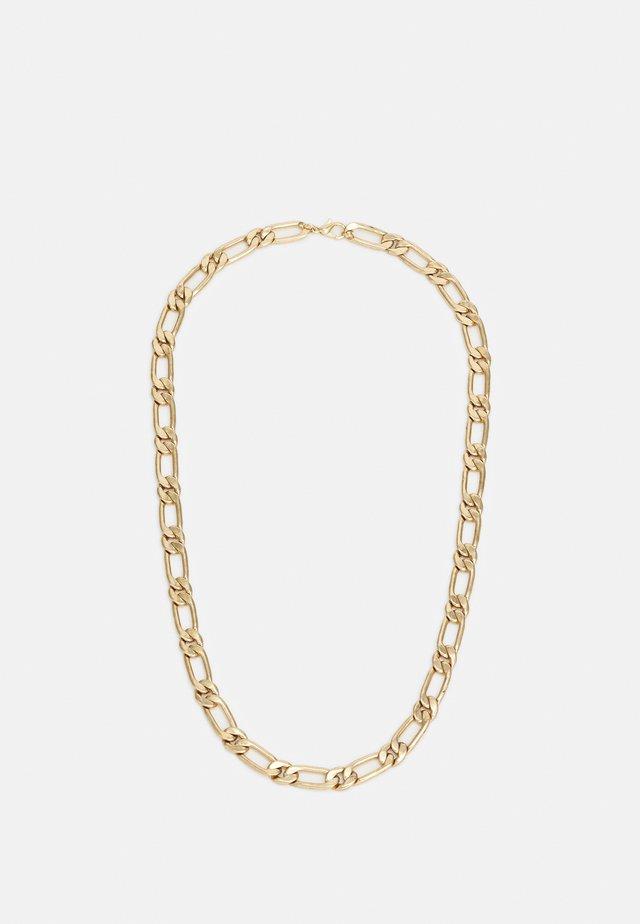 FLAT FIGARO NECKLACE - Smykke - gold-coloured