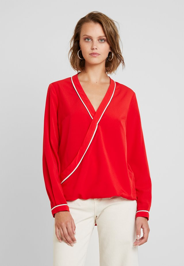 BLOUSE - Bluzka - red