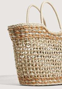OYSHO - Tote bag - camel - 4