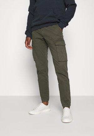 Pantaloni cargo - khaki/oliv