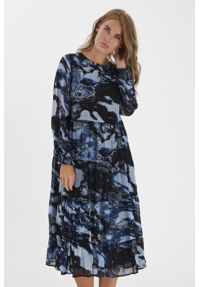 BYFENELLA - LIGHT WOVEN - Day dress - country blue mix
