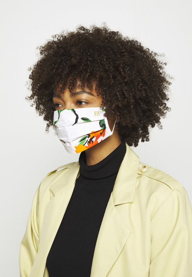 PRINTED FLOWERS LOGO - Community mask - multicoloured
