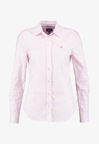 OXFORD BANKER - Button-down blouse - light pink