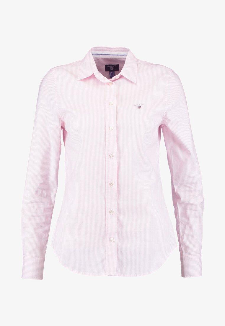 GANT - OXFORD BANKER - Košile - light pink