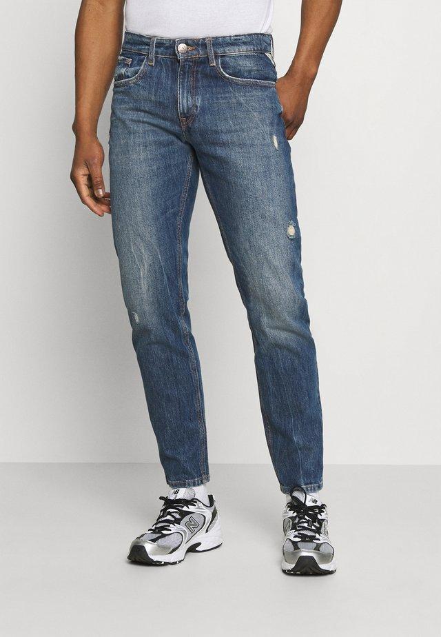PALERMO DESTROY - Slim fit jeans - bentley reflex