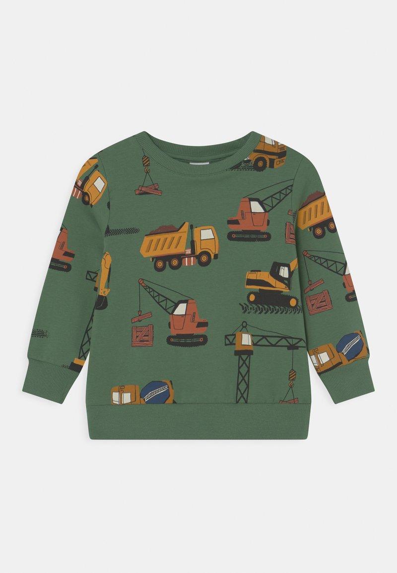 Lindex - MINI VEHICLES - Sweatshirt - green