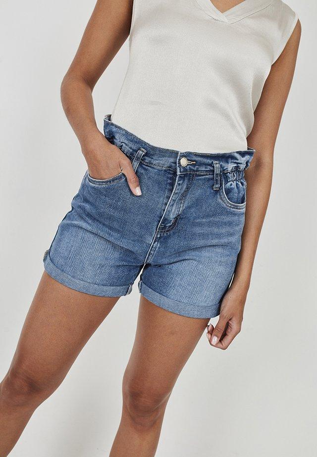 Denim shorts - azul denim
