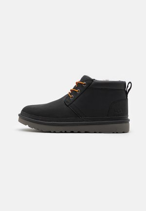 NEUMEL UTILITY - Lace-up ankle boots - black