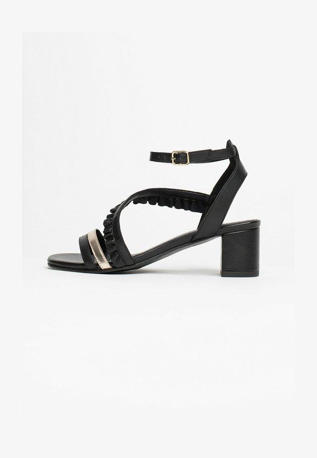 DYANI - Sandalen met hoge hak - black