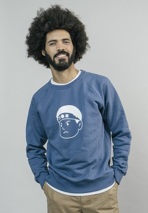 AKITO - Sweater - blue