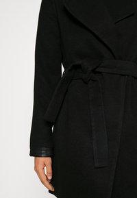 Vero Moda - VMCALASISSEL JACKET - Krótki płaszcz - black - 6