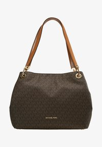 MICHAEL Michael Kors - RAVEN SHOULDER BAG - Handbag - brown - 6