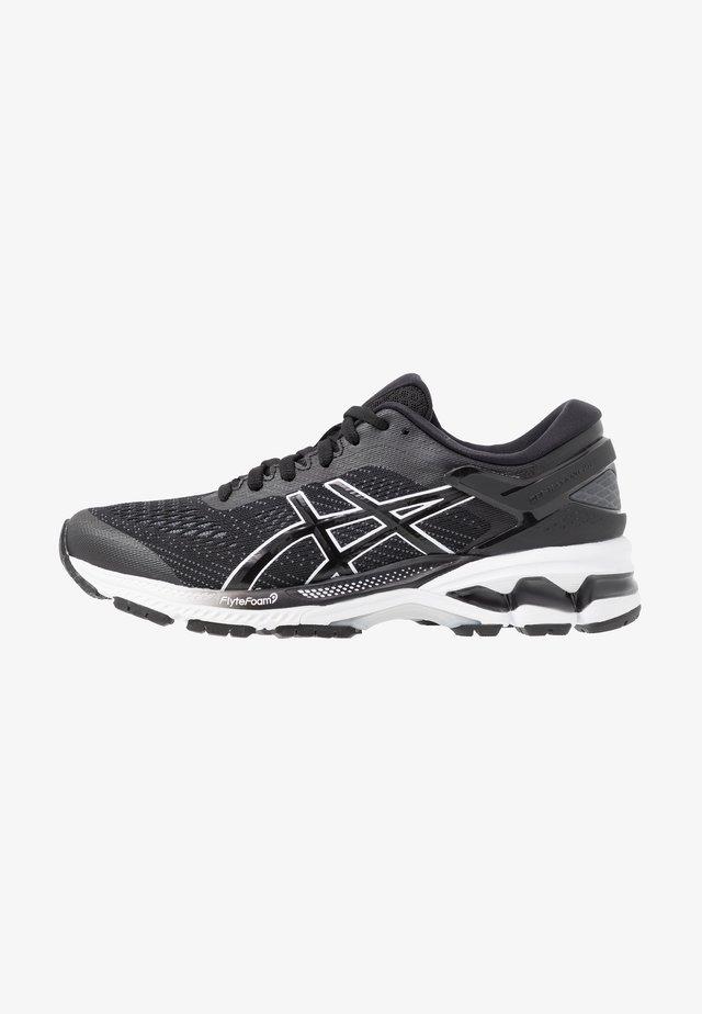 GEL-KAYANO 26 - Stabiliteit hardloopschoenen - black/white