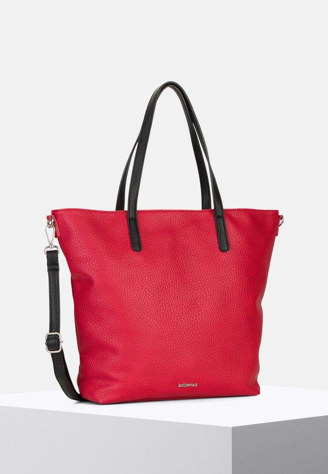 LAETICIA - Bolso shopping - red