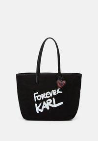 KARL LAGERFELD - FOREVER - Kabelka - black - 1