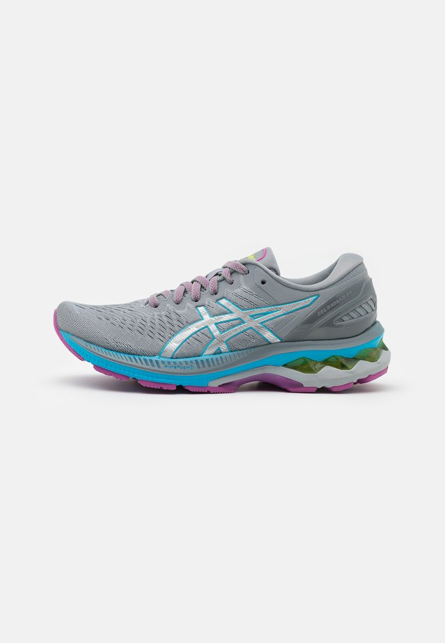 GEL-KAYANO 27 - Stabilty running shoes - digital aqua/pure silver