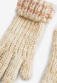 Next - METALLIC STITCH - Gloves - pink - 4