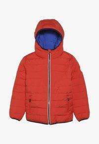 Superdry - REVERSIBLE FUJI - Winter jacket - fire orange/cobalt - 3