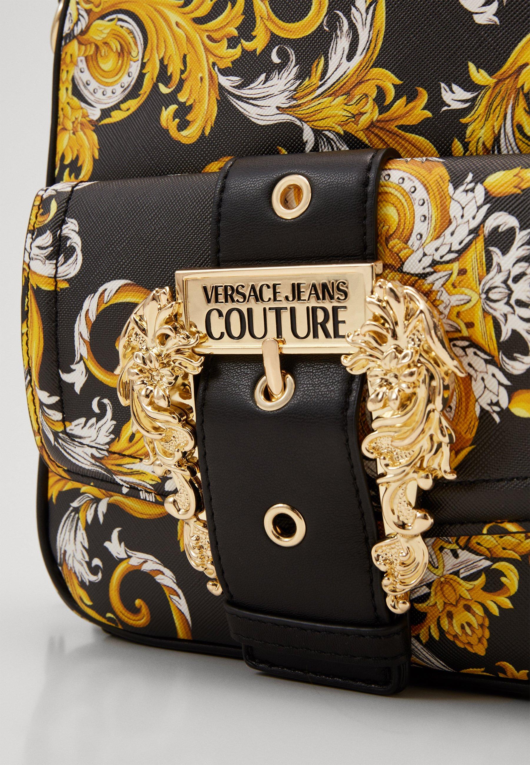 Versace Jeans Couture BACKPACK - Ryggsekk - black/svart 4FFvNPcMFMIJDyn