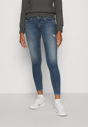 ONLCORAL  - Jeans Skinny - dark blue denim