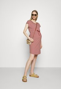 ONLY - OLMMAY LIFE DRESS - Jersey dress - apple butter - 1