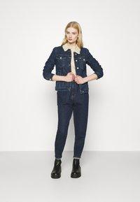 Tommy Jeans - TRUCKER JACKET  - Denim jacket - oslo dark blue - 1