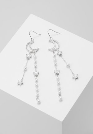 OHRHÄNGER MOON STARS - Earrings - silber-colouredccc