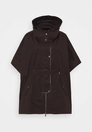 CAMINO - Short coat - dark brown