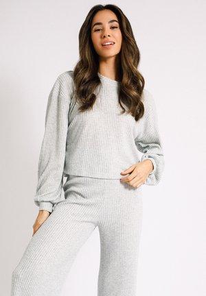 Pyjamasöverdel - light grey