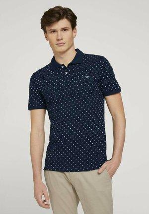 Polo shirt - navy base white element design