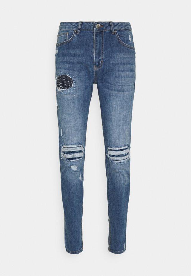 Džíny Slim Fit - blue wash
