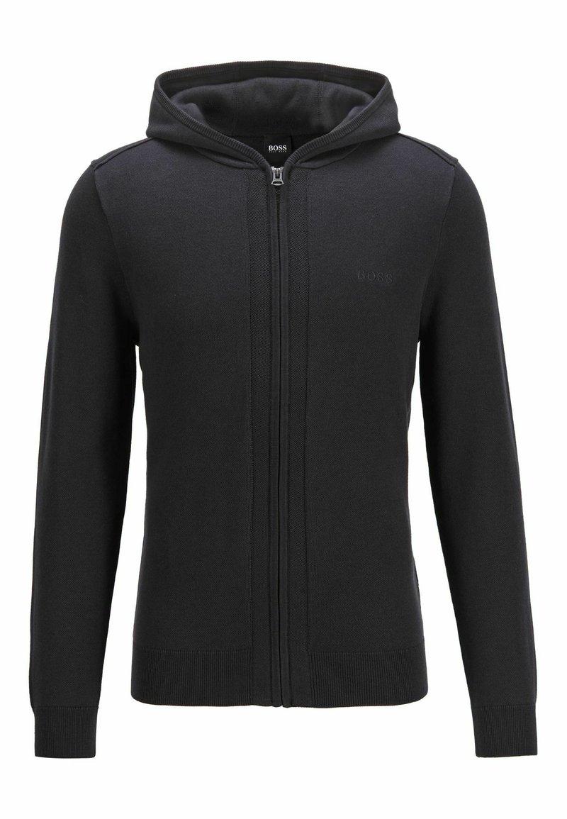 BOSS - Zip-up hoodie - dark blue