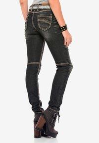 Cipo & Baxx - Slim fit jeans - black - 2
