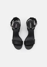 Even&Odd Wide Fit - WIDE FIT - Sandals - black - 5
