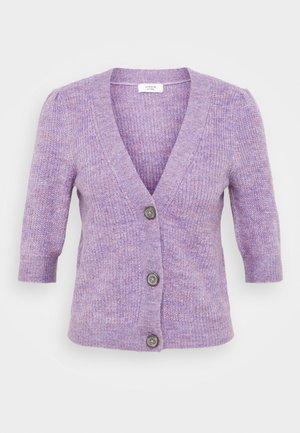 JDYDREA SHORT CARDIGAN - Cardigan - lavender gray/melange