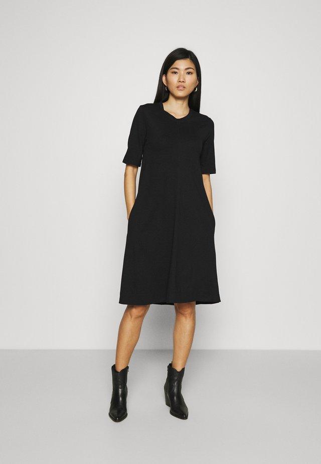 A LINE DRESS - Jerseyjurk - black
