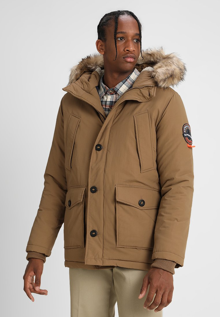 Superdry - EVEREST - Winter coat - flaxon