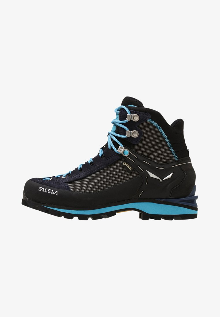 Salewa - CROW GTX - Mountain shoes - premium navy/ethernal blue