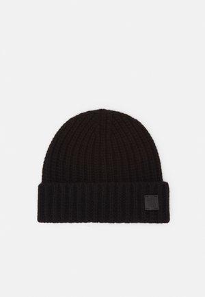 100% Cashmere Beanie UNISEX - Berretto - black