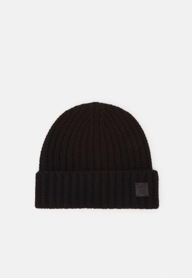 100% Cashmere Beanie UNISEX - Bonnet - black