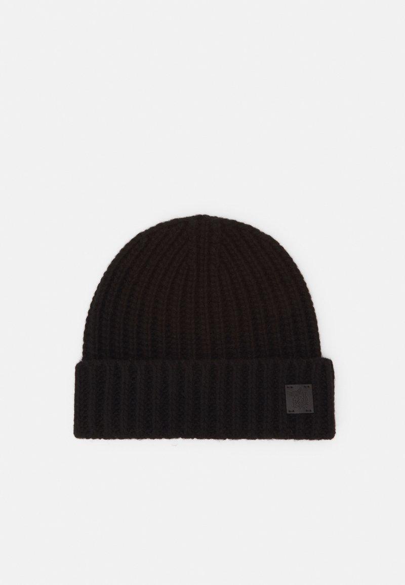 Johnstons of Elgin - 100% Cashmere Beanie UNISEX - Beanie - black