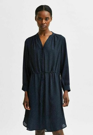 SLFDAMINA  DRESS  - Shirt dress - dark sapphire