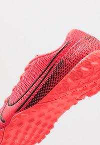 Nike Performance - MERCURIAL JR VAPOR 13 ACADEMY TF UNISEX - Astro turf trainers - laser crimson/black - 2
