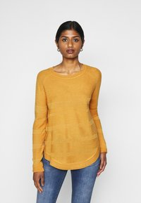 ONLY Petite - ONLCAVIAR - Jumper - golden yellow - 0