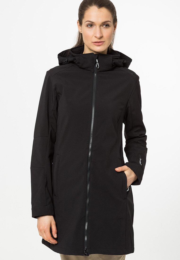 CMP - WOMAN ZIP HOOD - Soft shell jacket - nero