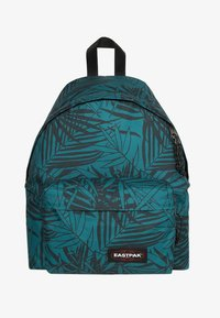 Eastpak - PADDED PAK'R CHECKED FELT - Rucksack - leaves green - 0