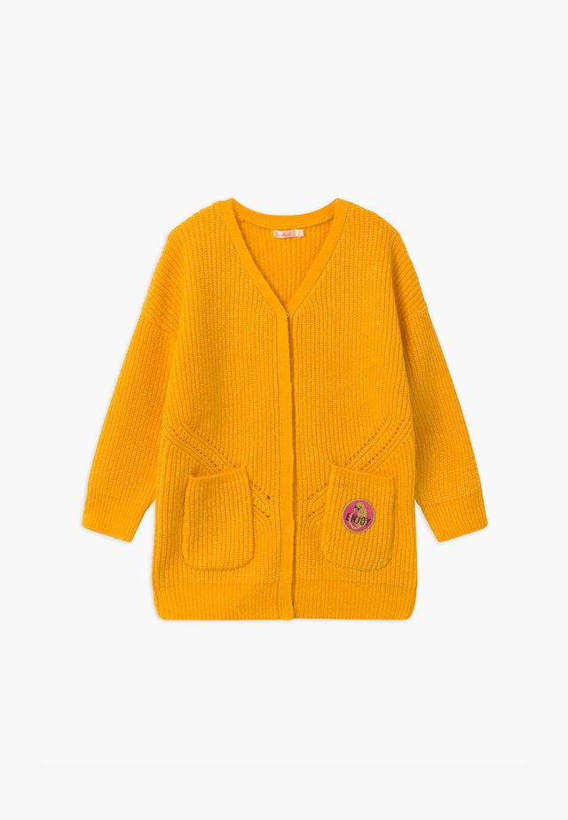 Vest - straw yellow